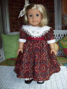 American Girl doll or 18 inch doll dress lace slip by ASewSewShop, $22.00