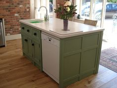 Small Kitchen Island with Sink | island with sink and dishwasher ...