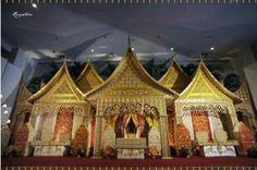 Soraya Wedding Organizer | Gallery Pelaminan Adat  Pelaminan Minangkabau, dengan nuansa kuning melayu.