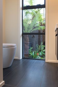#featurewindow #bathroom in our Nelson Show Home