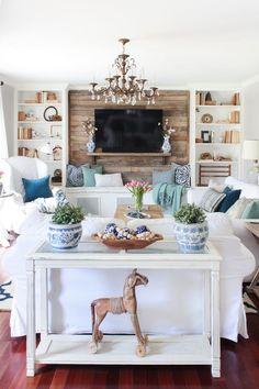 Spring Home Tour 2017 - Shades of Blue Interiors