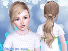 Skysims Hair Child 208-k