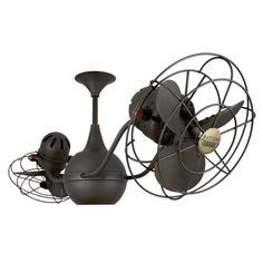 Minka aire vintage gyro oil rubbed bronze ceiling fan style vintage style ceiling fans google search aloadofball Choice Image