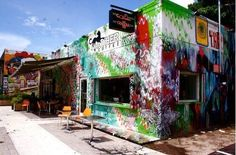 Panther Coffee in Miami's trendy Wynwood District - Delish!