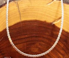 Necklace Long Pendant Ready Layering 925 Sterling ITALY 3mm Cobra Chain 18g 30in #NecklaceChain