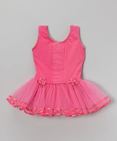 Look at this Wenchoice Hot Pink Ruffle Front Skirted Leotard - Infant, Toddler & Girls on today! Infant Toddler, Toddler Girls, Dance Gear, Ballet Clothes, Glam Girl, Little Princess, Leotards, Tutu, Hot Pink
