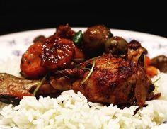 Chicken Cacciatora, metsästäjän kanaa