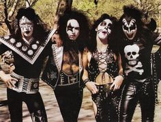 The greatest rock and roll band of all time. KISS!!!!!!!