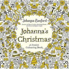'Johanna's Christmas Colouring Book' by Johanna Basford