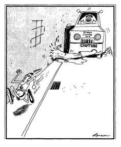 """The Far Side"" by Gary Larson. Far Side Cartoons, Far Side Comics, Cartoon Network Adventure Time, Adventure Time Anime, Cartoon Jokes, Funny Cartoons, Engineering Humor, Physics Humor, Gary Larson Far Side"