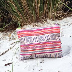 This vintage, fair trade clutch has all the bells and whistles to create a statement for any trendsetter. Inspired by our Mediterranean travels, we fell in love with this clutch instantly. Custom made