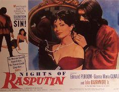 Buttered Pop Culture - Poster for Nights of Rasputin John Drew Barrymore, Love Plus, Rasputin, Pop Culture, Film, Night, Books, Movie Posters, Watch