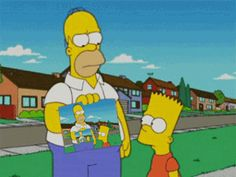 Discover & share this Homer Simpson GIF with everyone you know. GIPHY is how you search, share, discover, and create GIFs. Futurama, Playlists, Die Simpsons, Modern Family Quotes, The Mindy Project, How To Make Animations, American Dad, Cartoon Gifs, Adventure Time Art