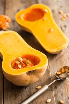 How to Easily Peel and Cut Butternut Squash (The Healthy Foodie) Veggie Side Dishes, Side Dish Recipes, Vegetable Dishes, Main Dishes, Vegetable Pasta, Vegetable Recipes, Vegetable Ideas, Baby Food Recipes, Cooking Recipes