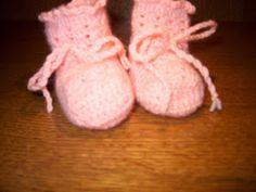 Busy Bessy Creatief: Gehaakte babysokjes