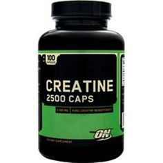 Get faster gains in lean muscle mass! Optimum Nutrition Creatine 2500 100 caps #OptimumNutrition