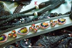 Green ''Ritaj '' #Moroccan #takchita #Kaftan #caftan made from a very elegant designer beaded frensh #lace fabric. www.sallykaftandesign.com