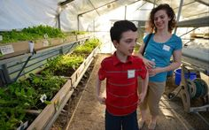 Students at Therapeutic Day School Cultivate Plants