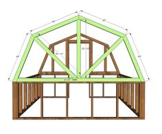 Ana white build a barn greenhouse free and easy diy project and furniture plans ana white greenhouse plans diy greenhouse 6 10 x 8 0 greenhouse plans pdf etsy Wood Greenhouse Plans, Greenhouse Panels, Backyard Greenhouse, Small Greenhouse, Greenhouse Ideas, Greenhouse Wedding, Homemade Greenhouse, Portable Greenhouse, Building A Shed
