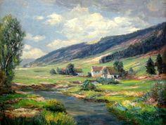 Mountain Valley Landscape - Harry Aiken Vincent