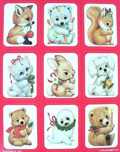 Ruth Morehead baby animal stickers