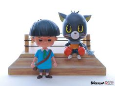 The Boxing Cats – Us & karl Exclusive By Kaiser Luna x M's Production & Co | The Toy Chronicle
