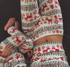 Mommy & daughter matching Jammies!