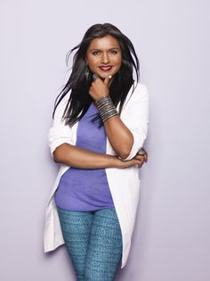 Mindy Kaling in The Mindy Project - love her!
