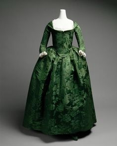 18th century dress. Very simple.