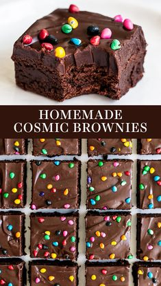 Copycat Cosmic Brownies are ultra rich, fudgy, and chewy just like the kind you . Copycat Cosmic Brownies are ultra rich, fudgy, and chewy just like the kind you buy at the store from Little Debbie Cosmic Brownies, Fudge Brownies, Baking Brownies, Frosted Brownies, Cheesecake Brownies, Smores Dessert, Dessert Bars, Honey Dessert, Appetizer Dessert