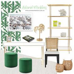 Mood Boards, Home Office, Home Offices, Office Home