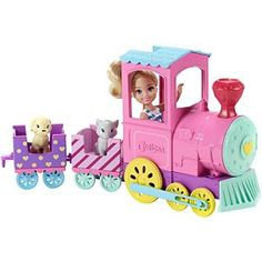 Check out the Barbie Club Chelsea Doll & Choo-Choo Train Playset at the official Barbie website. Explore all our Barbie dolls, playsets and accessories today! Baby Girl Toys, Toys For Girls, Kids Toys, Baby Dolls, Mattel Barbie, Barbie Doll Set, Barbie Club, Ken Doll, Barbie Chelsea Doll