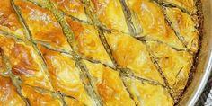 Pistachio and Orange Blossom Baklava