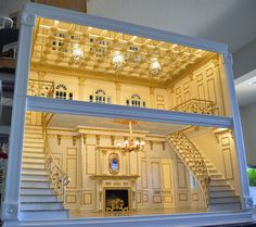Ken Haseltine Regent Miniatures gorgeous 1:6 scale House   Now that's the way you build a dollhouse!!