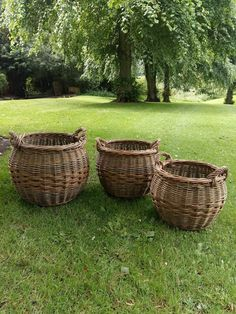 Curved Log baskets