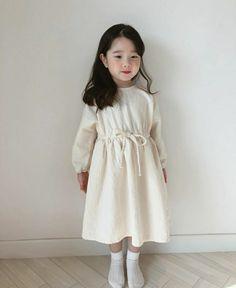 Cute Asian Babies, Korean Babies, Asian Kids, Cute Babies, Girls Fashion Clothes, Baby Girl Fashion, Toddler Fashion, Kids Fashion, White Girl Outfits