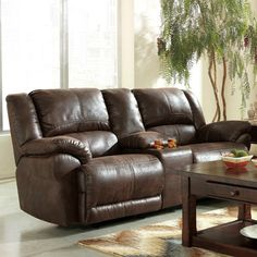 Leather Couches Ashley S Navigator Faux Leather