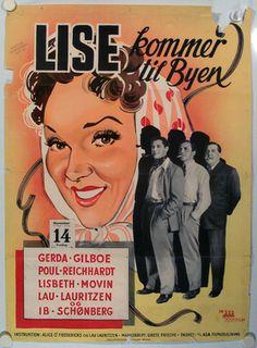 Lise kommer til byen (1947) Lise kommer til byen for at blive skuespiller