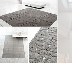 Amazing felt rugs.  I am going to make one.