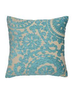 Floriade Cushion, Turquoise product photo