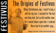 LIVING THE VIGOROUS WAY!: IT'S A FESTIVUS WEDNESDAY
