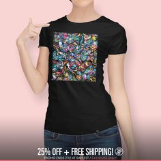 Discover «Butterfly and Roses», Numbered Edition Women's Classic T-Shirt by Jean Batzell Fitzgerald - From $25 - Curioos
