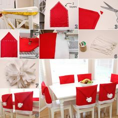 Santa Hat Chair Covers Target Baby High Wood 40 Best Christmas Images Decorated Make These Amazing For Http Www