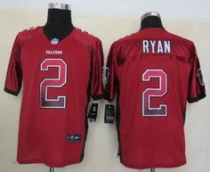 Atlanta Falcons 2 Ryan Drift Fashion Red Elite Jerseys