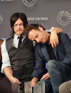 BROTHER'S OFF SCREEN - NORMAN AND ANDY
