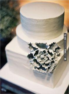 white wedding cake by Plumeria Cake Studio | CHECK OUT MORE IDEAS AT WEDDINGPINS.NET | #weddingcakes