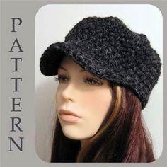 Crochet Newsboy Hat Pattern Free | Free Easy Crochet Patterns Crochet ...