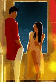 Nikhil and Meeta. by PascalCampion on DeviantArt