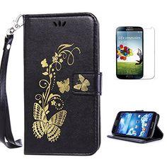 Yrisen 2in 1 Samsung Galaxy S4 Tasche Hülle Wallet Case S…