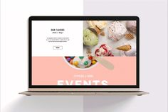 Customers will flock to your ice cream shop with this bright and vibrant website template. With enticing images and cool parallax layout, this template is almost ready to go. Simply edit the menu to get mouthes watering and upload your own pictures to ree…